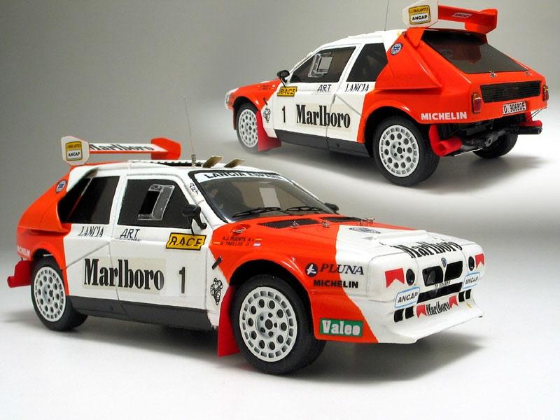 Lancia Delta S4. Lancia Delta S4 Rally Car